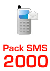Pack SMS 2000
