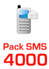 Pack SMS 4000
